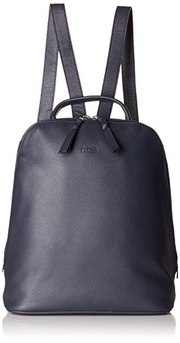 BREE Damen Cary 4, Navy, Backpack Henkeltasche, Blau, 12.5x32x27 cm