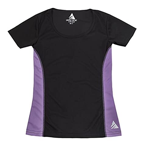 United Sports Women's Sports Top (Sizes S-2XL) High Performance Quick