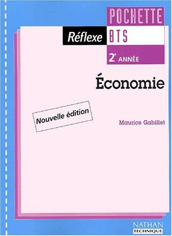 Economie BTS 2e année : pochette de l'élève