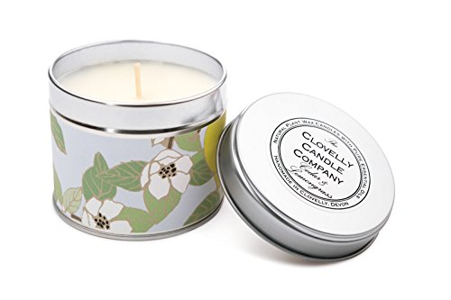 Clovelly Soap Co. Handgemachte natürliche Duftseife Zedernholz & Zitronengras Aromatherapie Sojawachs Vegane Dosenkerze
