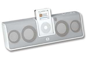 Logitech MM50 Portable Speakers for iPod - White