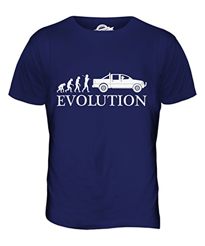 CandyMix Pick Up Evolution Des Menschen Herren T Shirt Navy Blau
