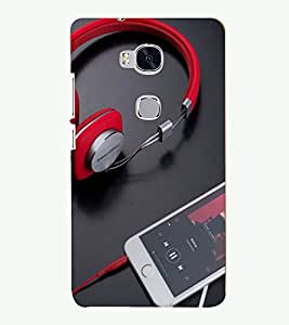 PRINTSOPPII MUSIC Back Case Cover for Huawei Honor 5X::Huawei Honor X5, Huawei GR5