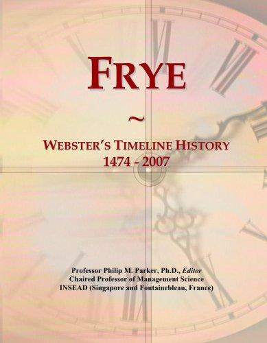 frye-websters-timeline-history-1474-2007