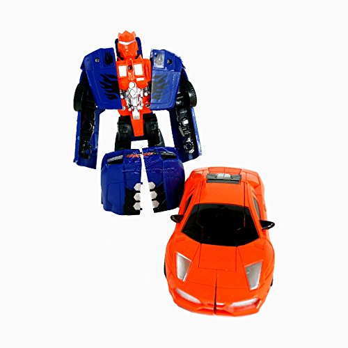 2 Stück Wandelbares Roboterauto Robots in Disguise Warriors Strongarm, Actionfigur