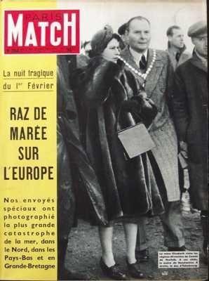 PARIS MATCH [No 204] du 07/02/1953 - ALAIN GILETTI ANGLETERRE - GRANDE BRETAGNE- SUJETS ET FAITS DIVERS ARCHEOLOGIE BAUDOIN DE Belgique BOXE CHINE NATIONALISTE DORE SCHARY EGYPTE ELIZABETH D'ANGLETERRE LA REINE MERE ETATS UNIS D'AMERIQUE - THEATRES - CINEMAS - MUSIC-HALL FERNANDEL GABY SYLVIA GENERAL NEGUIB GLORIA SYLVIA HERITGES HOLLYWOOD INONDATIONS JOHNNY DALKEITH LA MODE LORD BEAVERBROOK MAROC MEDECINE GREFFES METEOROLOGIE PALAIS DE L'ELYSEE ET PRESIDENCE DE LA REPUBLIQUE PAYS BAS SIDI MOHAM par COLLECTIF