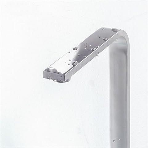 YALL Plomb 304 robinet de cuisine froide en acier inoxydable trou carré le réservoir de mélange