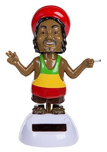 """Bewegliche Figur """"Rastafari"""" mit Solarzelle ~ LV 04/2016"""