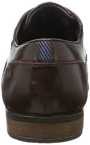 bugatti Herren 312295011100 Derbys Braun (Dark Brown)