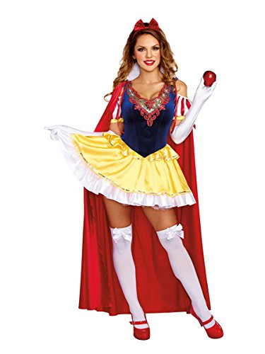 Kostüm Schneewittchen Freche - Dreamgirl Damen-Kostüm