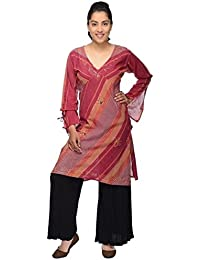 Langarm Bluse Oberteil Longshirt Kleid Shirt Träger Tank Schluppenbluse Freizeit Hippie Tunika Priya
