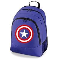 Captain America Avengers Superhero Gym School Backpack Bag