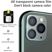 iTedel 3D Camera Lens Protector for iPhone 11 Pro/iPhone 11 Pro Max, HD Clear Tempered Glass 9H Anti-Scratch Anti-Fingerprint