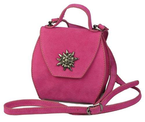 collezione alessandro, Borsa a tracolla donna Nero nero Nero (rosa)