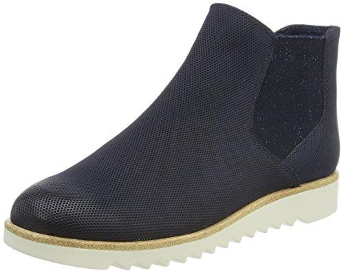 Tamaris Damen 25300 Chelsea Boots Blau