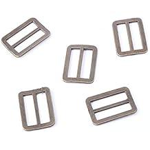 e3764e9015d9c5 Cooplay fibbia in metallo da 20 mm di larghezza per cinghie