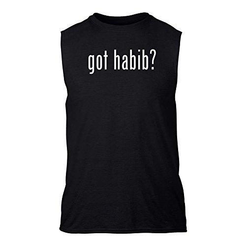 got-habib-senza-maniche-t-shirt-nero-l