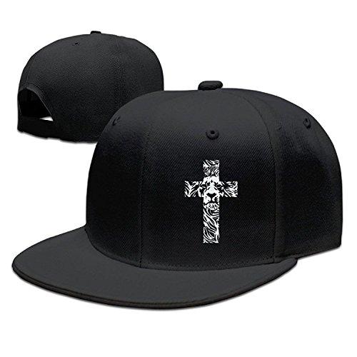 3f4bb26259b Kktio Lion Cross Religious Christian Rasta Funny Baseball Caps Cool  Snapbacks