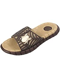 d4e2bc5c17cd Boys Kids Children Flip Flops Slides Spider Sandals UK Size UK 10 11 12 13 1
