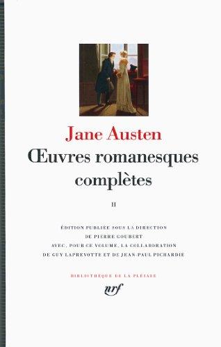 Œuvres romanesques complètes (Tome 2)
