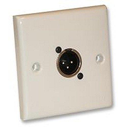 wall plate Panel, XLR-Stecker Geschlecht Stecker-Typ Anzahl der Kontakte 3Nennspannung V AC 50V Video A/v Wall Plate