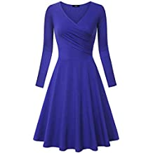 low priced d44c4 44424 Suchergebnis auf Amazon.de für: dunkelblaues kleid knielang