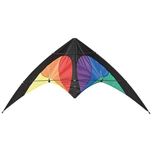 Unbekannt Invento 112352 - Bebop Prisma, Zweileiner Lenkdrachen, Ab 8 Jahren, 69 x 145 cm Ripstop-Nylon 2,5-5 Beaufort