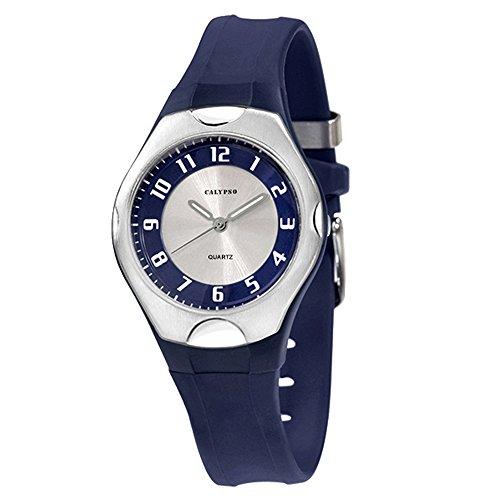 Calypso watches cal-21786–Uhr für Frauen, Kunststoff-Armband Blau