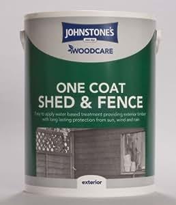 5l–Johnstone 's Woodcare One Coat Schuppen und Zaun rot Zeder