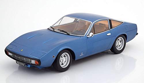 KK-Scale Ferrari 365 GTC/4 2+2 Coupe Blau 1966-1973 limitiert 1 von 750 Stück 1/18 Modell Auto