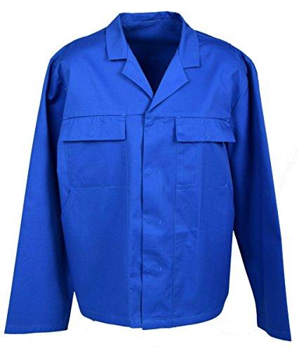 Preisvergleich Produktbild Stabile Herren Arbeitsjacke Bundjacke Berufsjacke in Blau - IW022, XL