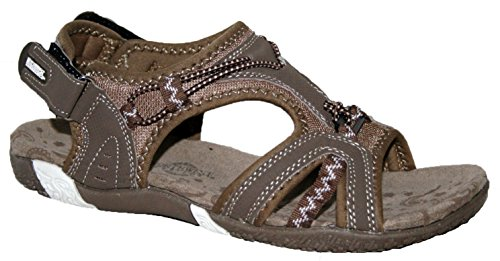 ladies-northwest-brown-adventure-walking-velcro-sports-sandals-sizes-3-4-5-6-7-8-5-uk