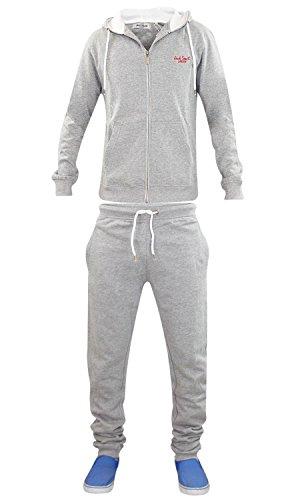 Mens Jacksouth Track Suit Grey Marl-L
