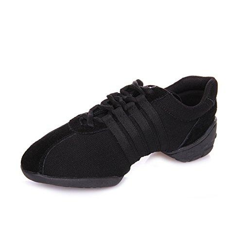 E Support™ Damen Funky Sneaker Dance Fitness Aerobic Gymnastik Sneaker Tanzsneaker Modernen Jazz Tanzschuh Dancesneaker Sportschuhe Schuh - 4