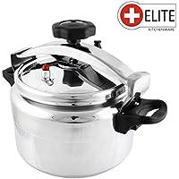 Elite Kitchenware – Olla a presión de 3 Lt Con Válvula de seguridad, Junta y