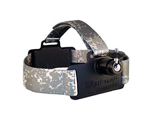 Solvid Premium Universal Head Cam Mount für Jede Kamera, CamStrap Pro, Digi Camo, One Size Fits Most Camo-video-kameras