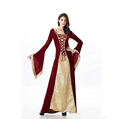 luxe wunderland königin kostüm Vampir böse Hexe Cosplay Fantasie Fancy Dress (Size : M) ()