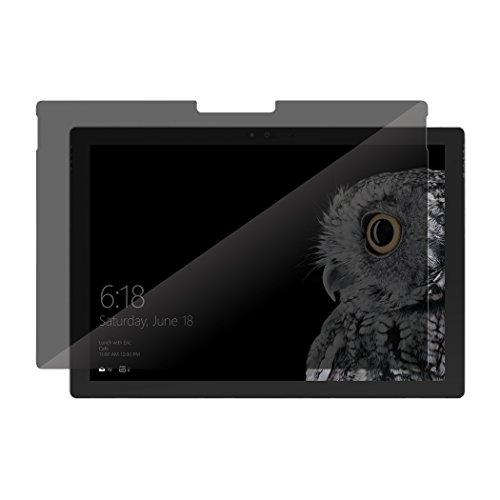 Incipio Plex Pro Privacy Glas Bildschirmschutzfolie Microsoft Surface Pro Book / Laptop / Laptop 2 - Microsoft zertifiziert [Privatsphäre gegen seitliche Einblicke I Gehärtetes Glas I 9H Härtegrad]
