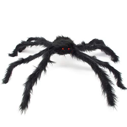 Spinne Riesenspinne Schwarz & Haarig - XXL 69cm -