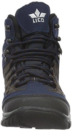 Lico Steppe, Scarpe da Arrampicata Uomo Blu (Marine/Grau)