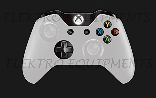 Third Party XBOX ONE Controller Replacement White Shell with Buttons