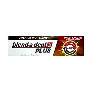 40g blend-a-dent PLUS Premium Haftcreme – Geschmacksneutral – Duokraft