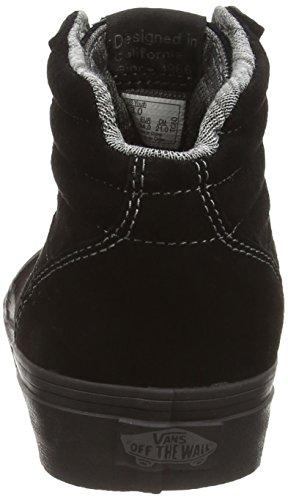 Vans - Y Milton Hi Mte, Alte Scarpe Da Ginnastica infantile Nero (mte black/black)