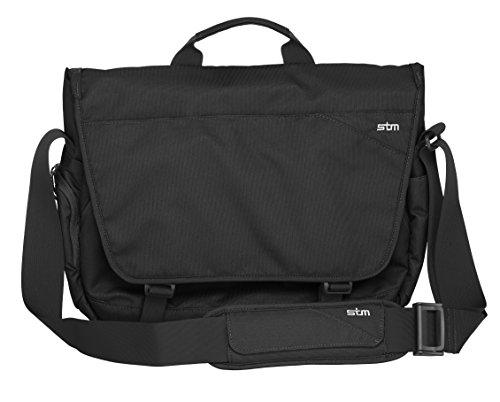"""STM Bags""""Velocity Radial"""" Shoulder Bag for 15-Inch - Black"""