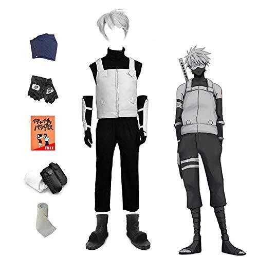 Kakashi Naruto Kostüm - Lackingone Naruto Hatake Kakashi Cosplay+ Kostüme