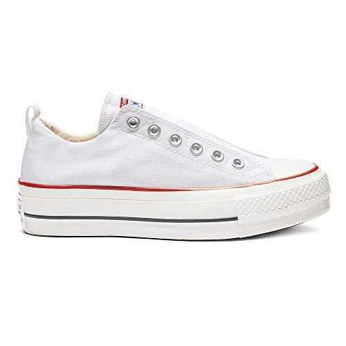 Converse Damen Sneaker Chuck Taylor All Star Fashion Ox weiß, Größe:36.5 Converse Sneakers Slip