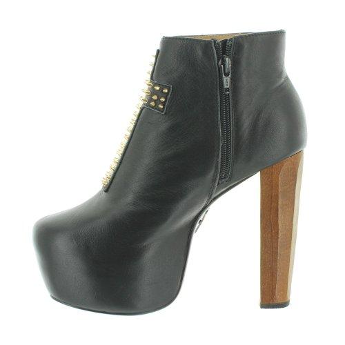 Kat Von D  SIOUXSIEBLACK, chaussures compensées femme Noir - Noir