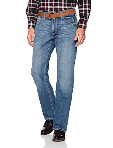 Ariat Men's M4 Low Rise Boot Cut Jean, Cole Dakota, 44X30 -