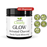 Isabella's Clearly GLOW (80g BULK) Teeth Whitening Activated Charcoal, Pure 100% Food Grade, Best Alternative...