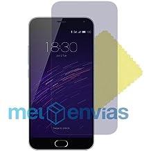 Pack 2 Protectores de pantalla para MEIZU M2 MINI 5.0 Pulgadas Lamina plastico Transparente